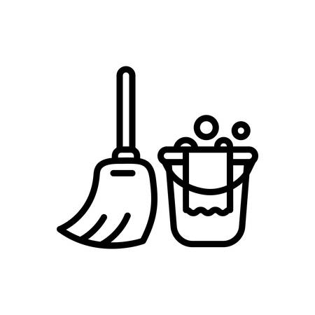 Icon for cleaning, wash Reklamní fotografie - 130467692