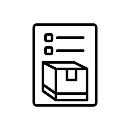 Icon for inventory, merchandise