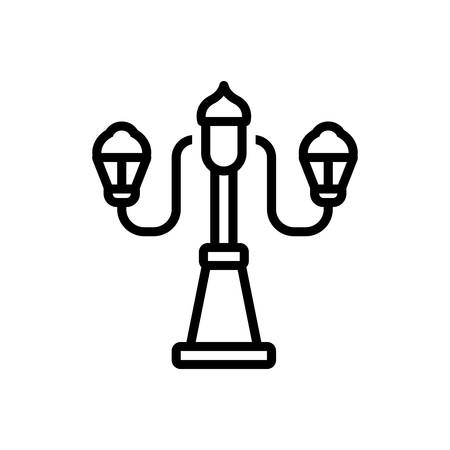 Icon for lamp, table lamp Imagens - 130469995