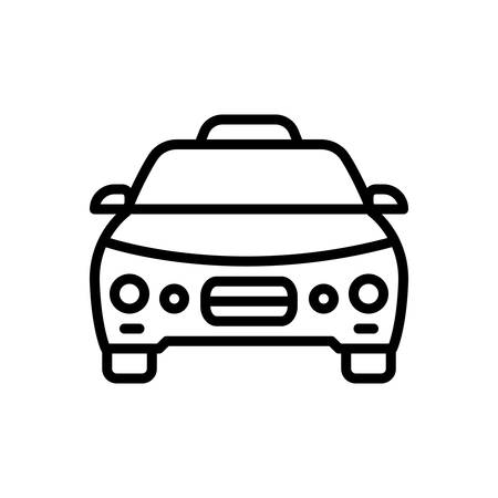 Icon for taxi,cab