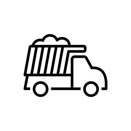 Icon for dumper,excavation