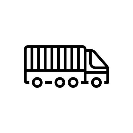 Icon for freight,transport Иллюстрация
