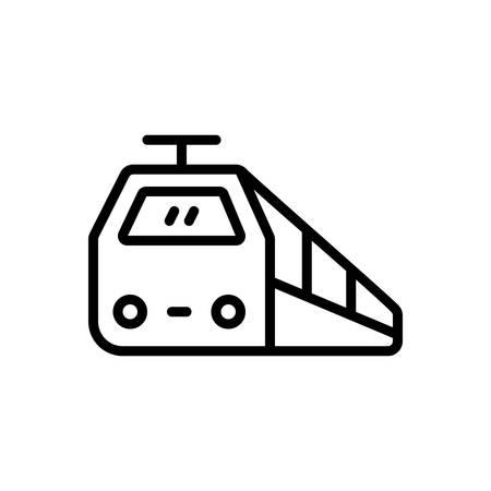Icon for train,subway Ilustracja