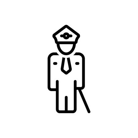 Icon for guard,security