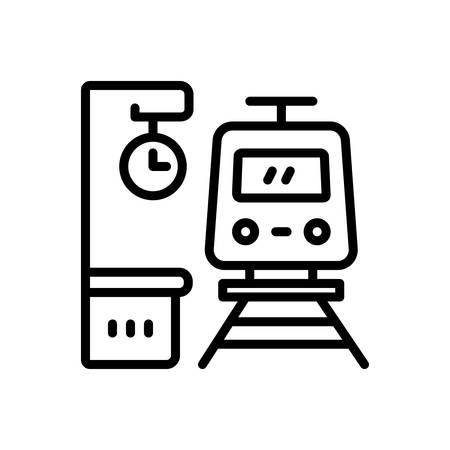 Icon for platform,railway