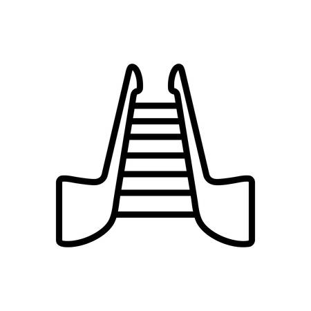 Icon for stairs,stepladder