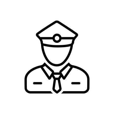 Icon for ticket collector,checker