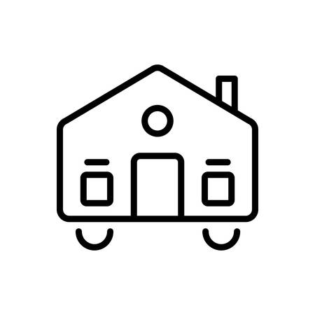 Icon for mobilhome,dynamic
