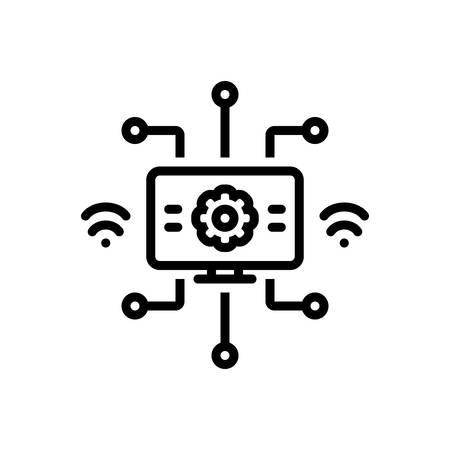 Icon for modernization,modernisation Ilustração