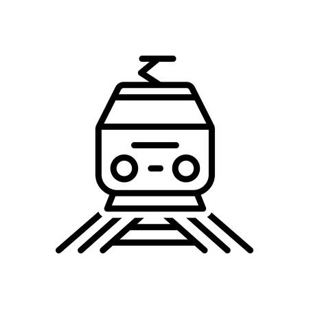 Icon for railway,transport 向量圖像