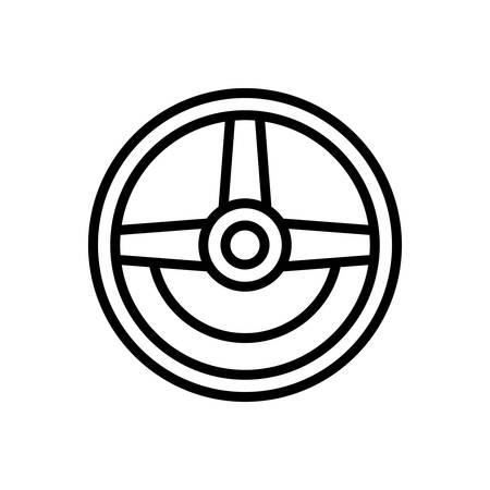 Icon for steering,wheel