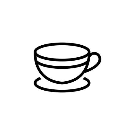 Icon for cup,tea Çizim