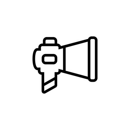 Icon for marketing,megaphone