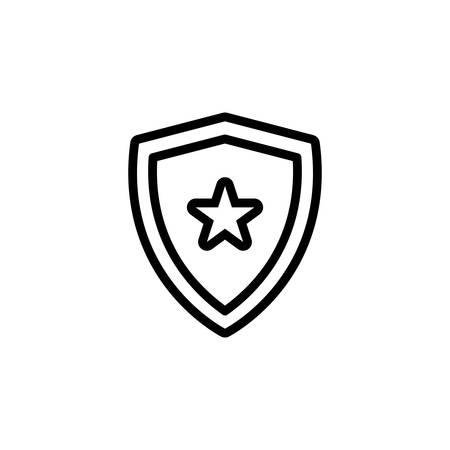 Icon for shield,armor Illustration