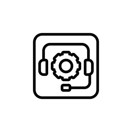 Icon for support,customer