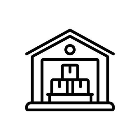 Icon for warehouse,logistics