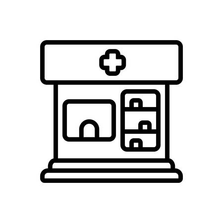 Icon for pharmacy,pharmaceutics Illustration