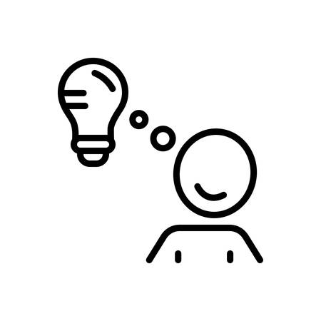 Icon for ideacreative,brainstorming