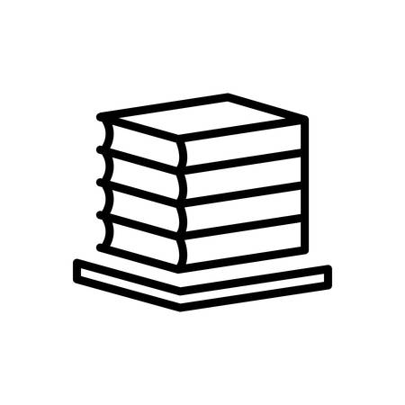 Icon for books,bibliography