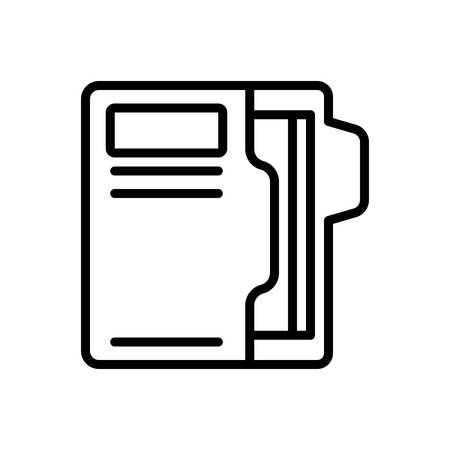 Icon for documents,paper 일러스트