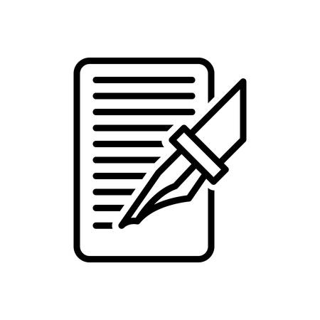 Icon for write,bespoke