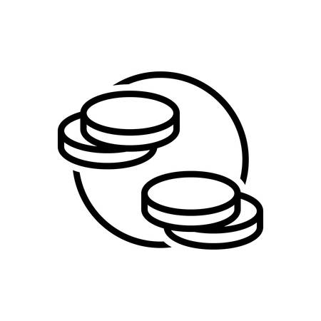 Icon for coins,currency