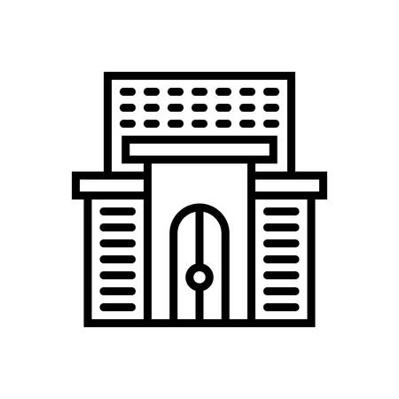 Icon for hotel,building