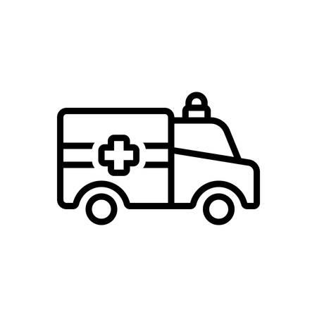 Icon for ambulance,emergencies