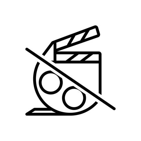 Icon for film,movie