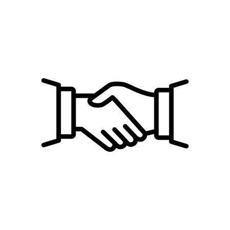Icon for handshake,partnership Ilustração