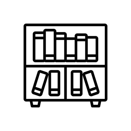 Icon for library,books