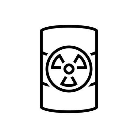 Icon for hazardous waste,dangerous