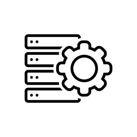 Icon for settings, storage