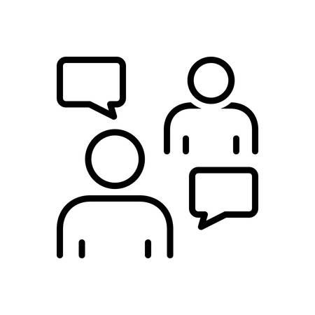 Icon for persuasive ,negotiation Reklamní fotografie - 130477777