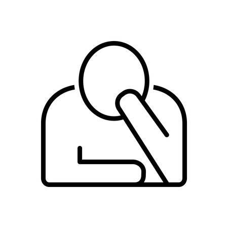 Icon for perturbation, disorganizat