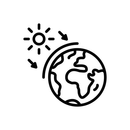 Icon for ozone ,world Stock Illustratie