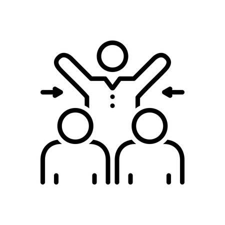Icon for participated,collaboration