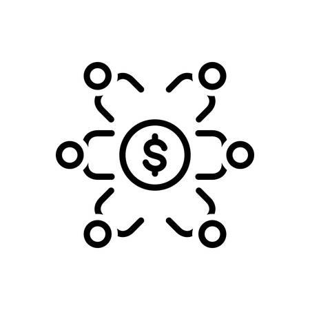 Icon for sponsor investment,sponsorship