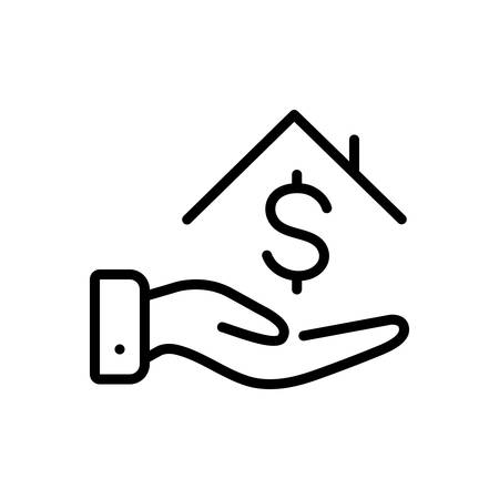 Icon for loan money,borrower