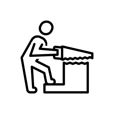 Icon for carpentry ,work