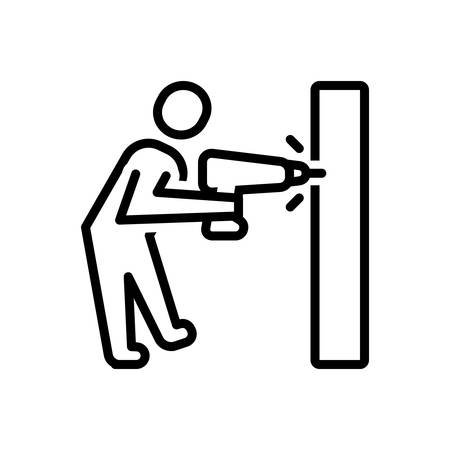 Icon for drilling ,work
