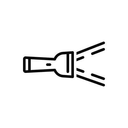 Icon for flashlight ,flash 일러스트