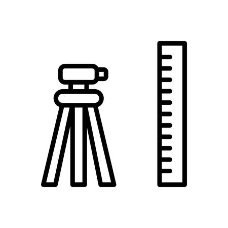 Icon for geodetic ,surveyor