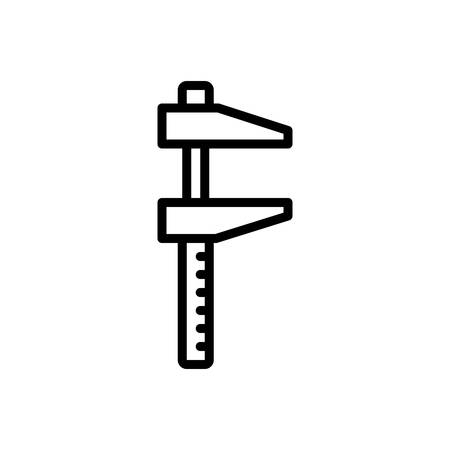 Icon for measuring accuracy, vernier
