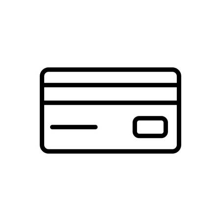 Icon for card ,debit card, payment protection Stok Fotoğraf - 130480292