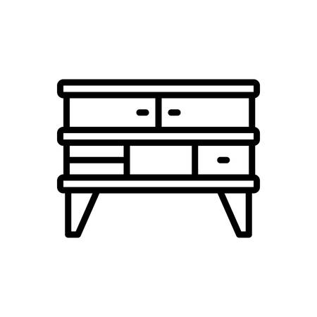Icon for furniture, cupboard