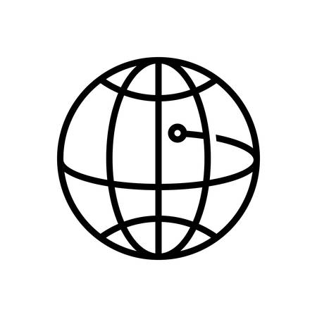 Icon for global business ,community