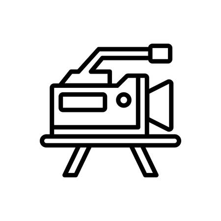 Icon for production, video marketing