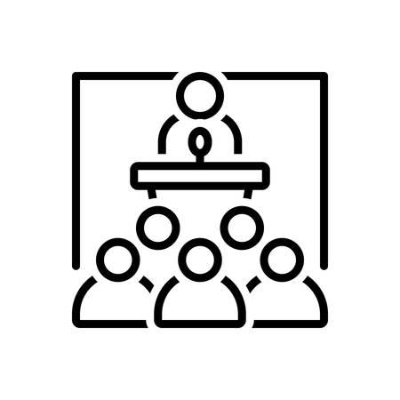 Icon for seminar ,conference