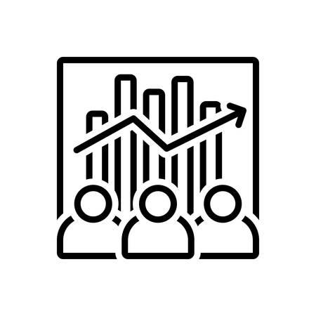 Icon for team efficiency, capacity
